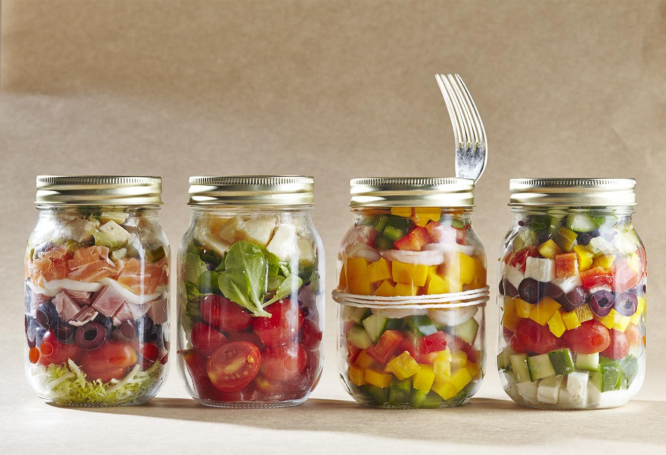 Salad In A Jar Ecozine