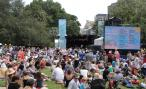 Outdoor music show in The Domain, Sydney